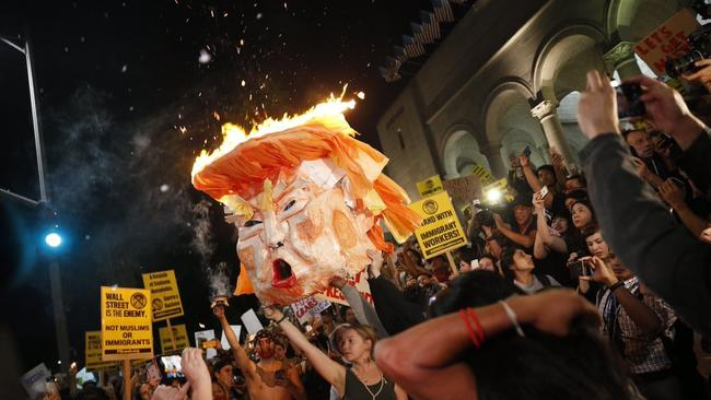 trumpheadburning